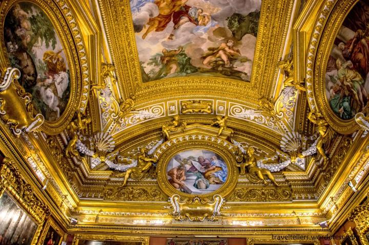 Hall of Saturn at Galleria Palatina