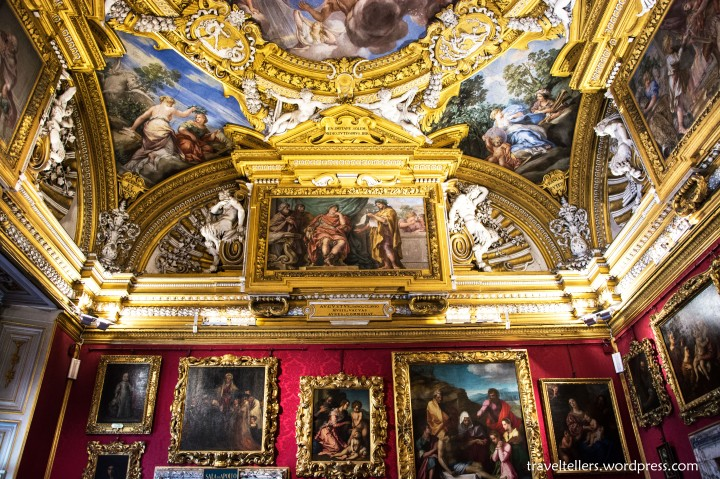 Hall of Venus at Galleria Palatina
