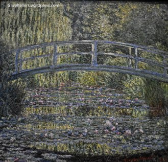 The Water Lily Pond by Monet