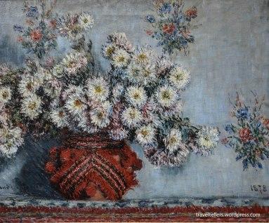 Chrysanthemums by Monet