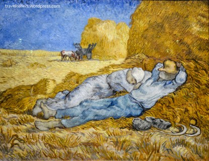 Noon Rest from Work by Vincent van Gogh