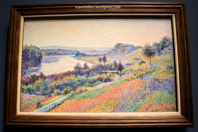 The Seine at Herblay [La Seine à Herblay] by Maximilien Luce