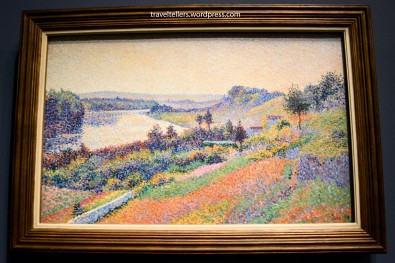 The Seine at Herblay [La Seine à Herblay] by Maximilien Luce