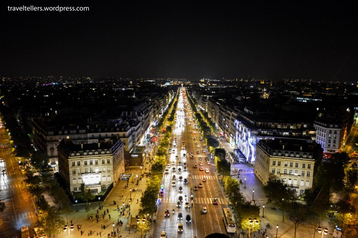 029_Champs Elysees from Arc de triomphe-2