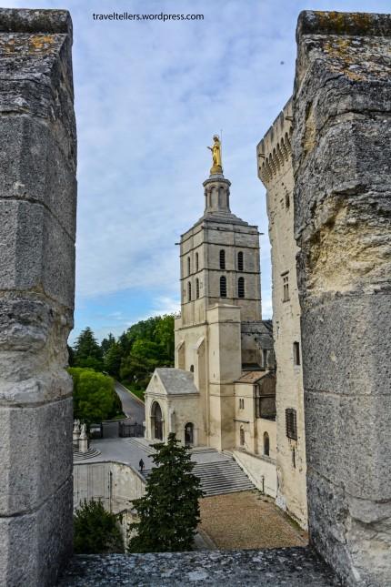 026_Notre Dame des Doms d' Avignon from Palais-2