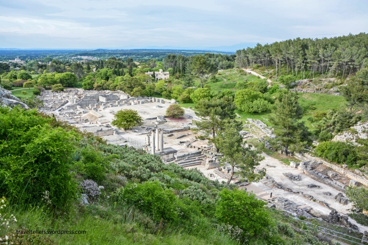 028_Overview of Glanum site-2