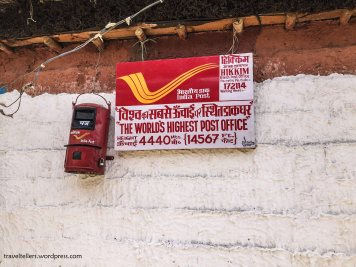 Worlds Highest Post Office