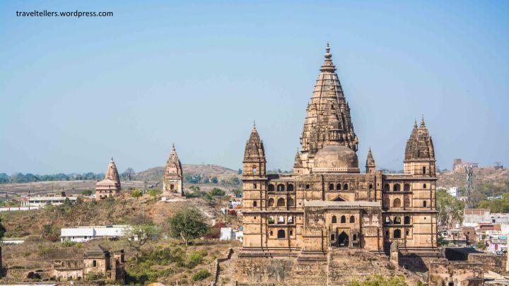065 Chaturbhuj Temple from Raja Mahal