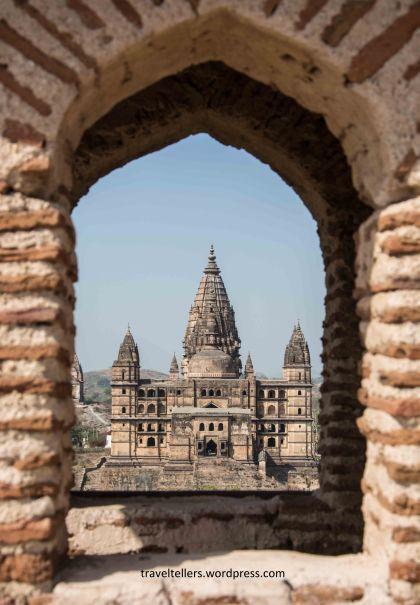 066 Chaturbhuj Temple from Raja Mahal