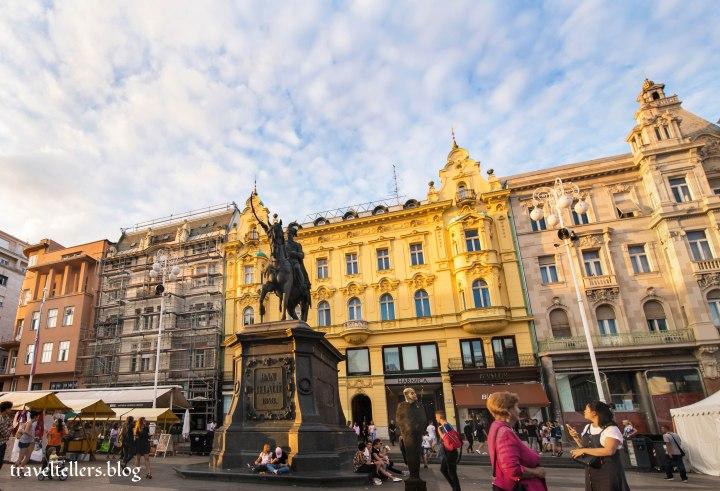 Statue of Ban Jelačić