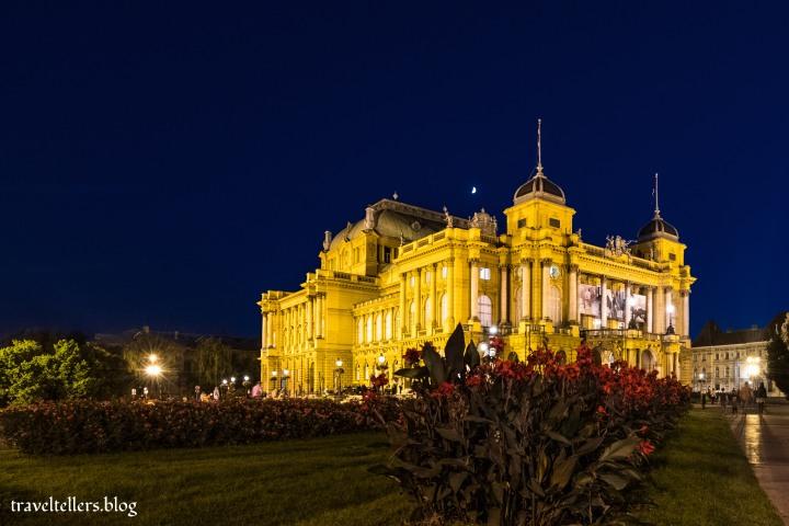 Croatian National Theatre, Zagreb