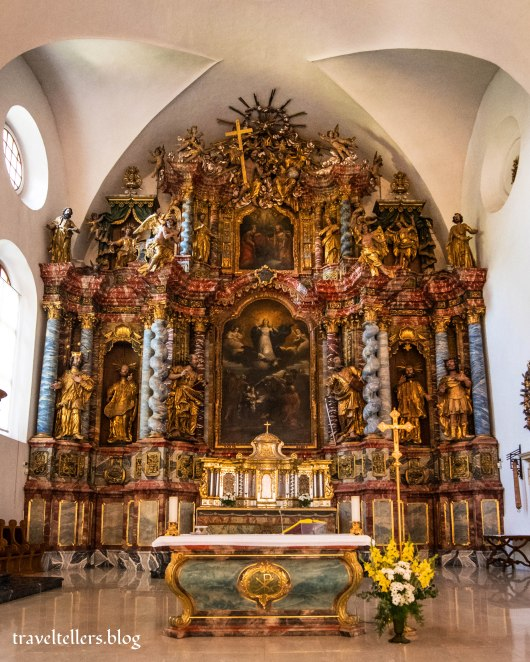 Main altarpiece Varaždin cathedral