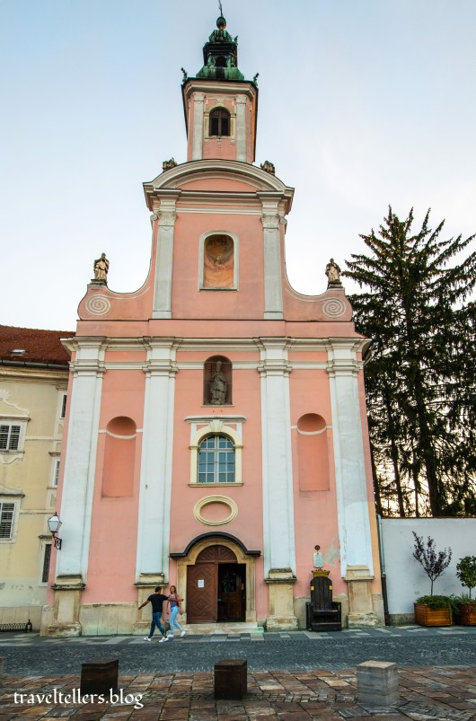 Ursuline Church Varazdin
