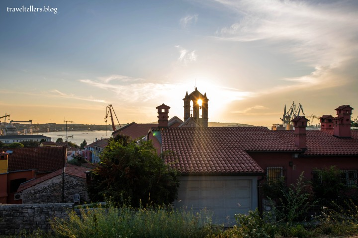 View from Historical and Maritime Museum of Istria
