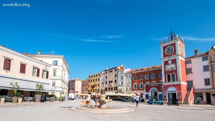Marshal Tito  Square , Rovinj ,  Croatia