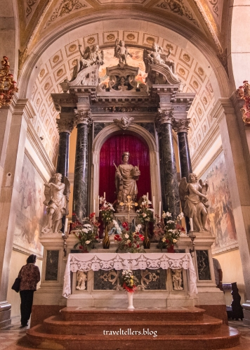 Altar of St. Euphemia