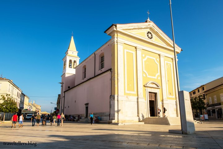 Church of Our Lady of Angels, Porec, Croatia